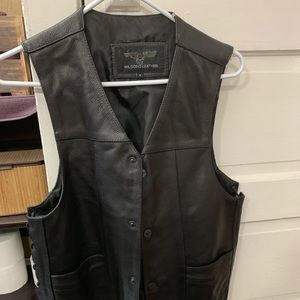 Harley Davidson Leather vest ( Wilsons Leather)